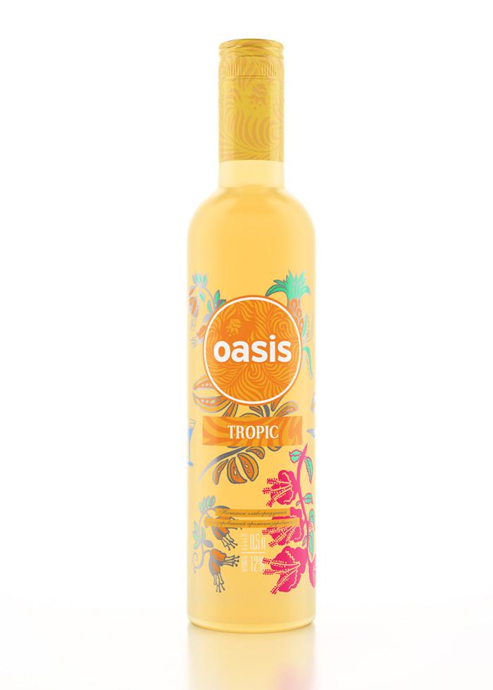 3d визуализация бутылок