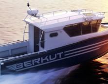 3д модель катера беркут