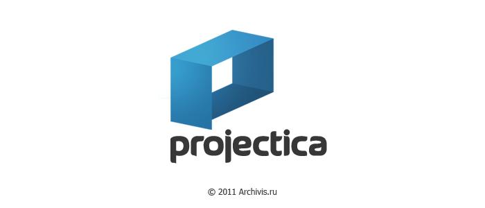 Логотип для сайта Projectica.ru