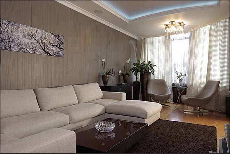 Какой цвет выбрать для отделки интерьера гостиной