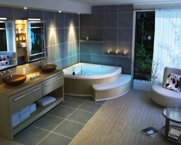 Мебель для современных ванных комнат на рынке