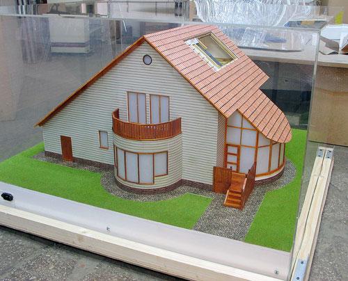 Макет здания вашей мечты
