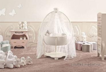 Безопасные и стильные кроватки для малышей