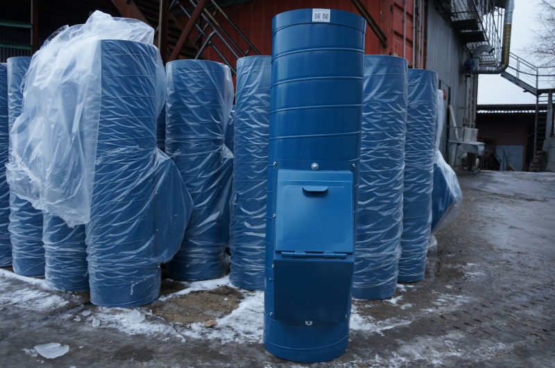 Монтаж мусоропровода со стволом