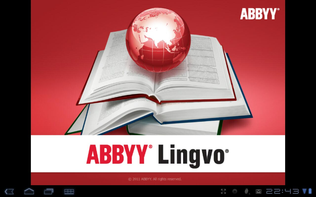 Всем известная программа Abbyy Lingvo
