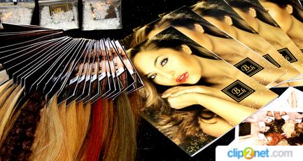 Длинные волосы на заколках можно приобрести в интернет-магазине brandhair.ru
