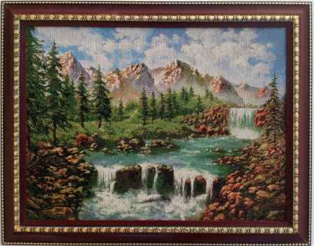 Купить Картина гобелен Водопад кгб-2007-рдт