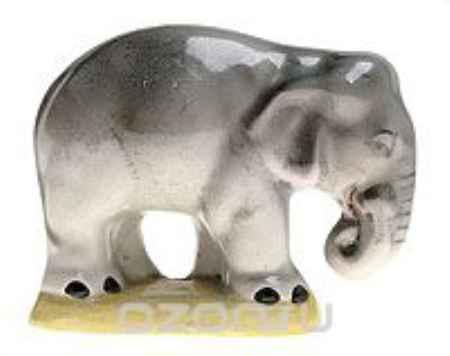 Купить Слон. Фарфор, роспись. Вторая половина ХХ века