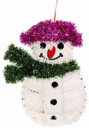 Купить Серпантин 9222-1 Снеговик