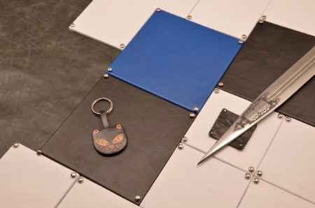 Купить Брелок для ключей. Коллекция Socotra (Черный; кожа)