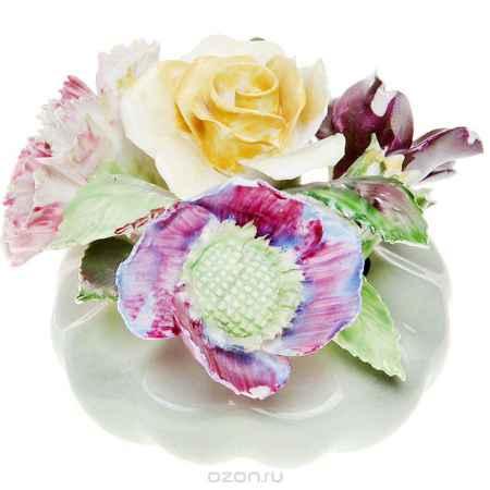 Купить Миниатюрная цветочная композиция для украшения интерьера. Фарфор, роспись, ручная работа. Royal Adderley, Великобритания, 1970-е гг.