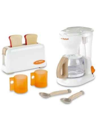 Купить Smoby тостер и кофеварка tefal