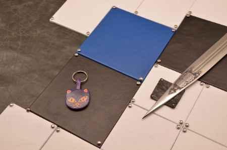 Купить Брелок для ключей. Коллекция Socotra (Фиолетовый; кожа)