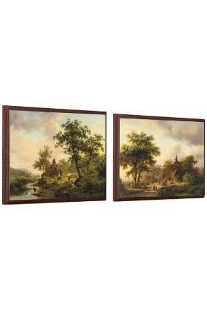 Купить ART-HOLSTER Панно в паре ART-HOLSTER P 462-463 МУЛЬТИКОЛОР