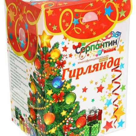 Купить Серпантин LED Н 20 Шар 4.5м Красный