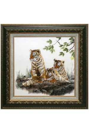 Купить Живой шелк Три тигренка Живой шелк 100711Б13 МУЛЬТИКОЛОР