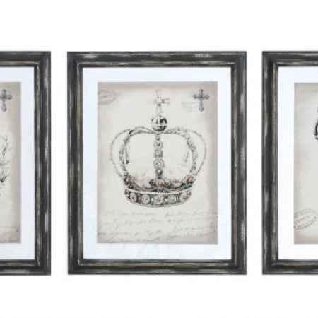 Купить DG Home Картина в рамке Queen Sketchs Key