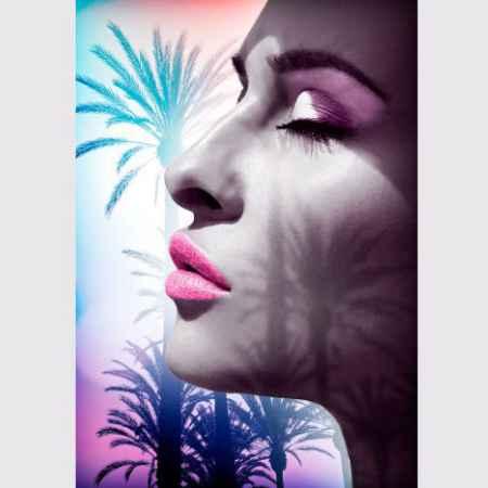Купить Eurographics Eurographics Репродукция 65x92,5 см Fashion Art Girl Palm Tree