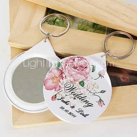 Купить персонализированные брелок зеркало - цветения (набор из 12)