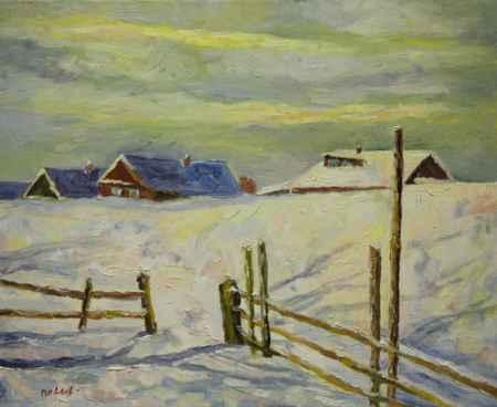 """Купить Картина """"Зима"""""""
