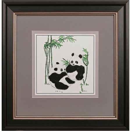 Купить Живой шелк Панды в бамбуковой роще Живой шелк 010512МН88 МУЛЬТИКОЛОР