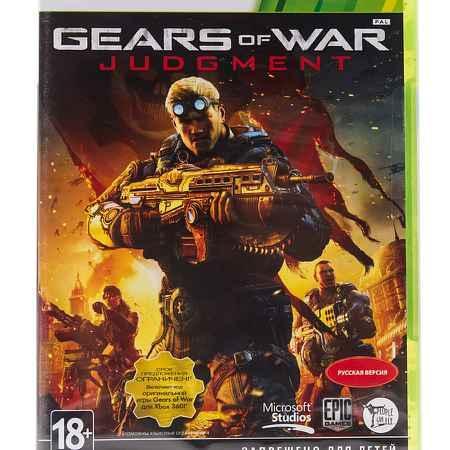 Купить Microsoft Игра Gears of War: Judgement (полностью на русском) [Xbox 360]