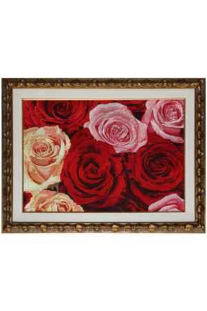 Купить Живой шелк Великолепие роз Живой шелк 130515Н16 МУЛЬТИКОЛОР