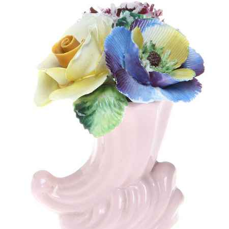 Купить Миниатюрная цветочная композиция для украшения интерьера. Фарфор, роспись, ручная работа. Radnor, Великобритания, 1960-е гг.