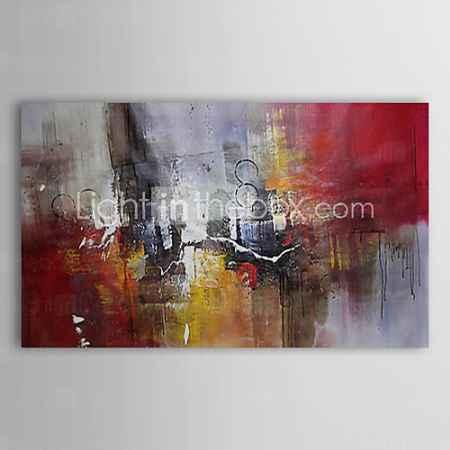 Купить картина маслом абстрактного дождь с растянутыми Frame 1311-ab1122 ручной росписью холст