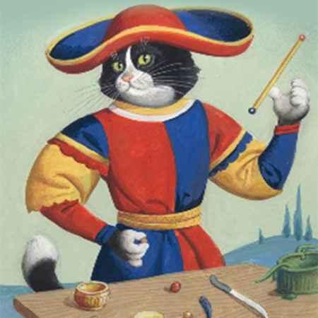Купить Таро Марсельских кошек