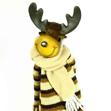 Купить Игрушка ручной работы  «Лось в пальто»