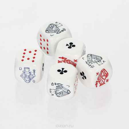 Купить Набор покерных игральных костей, 5 шт