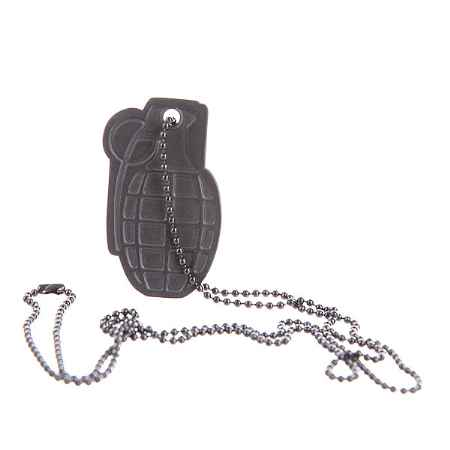 Купить Брелок Grenade Dog Tag Anchor Black