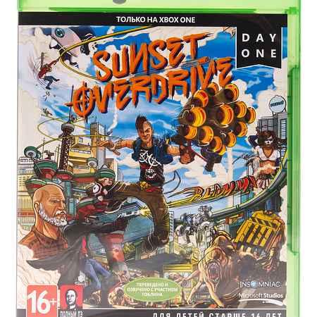 Купить Microsoft Игра Sunset Overdrive для Xbox One (полностью на русском)