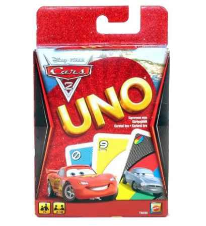 Купить Mattel Uno Тачки-2 Mattel (Маттел)