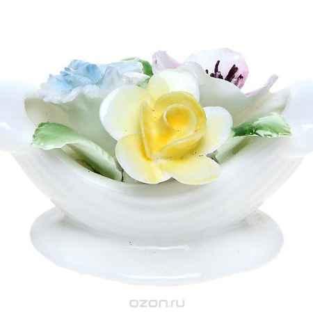 Купить Миниатюрная цветочная композиция для украшения интерьера. Фарфор, роспись, ручная работа. Royal Doulton, Великобритания, 1960-е гг.