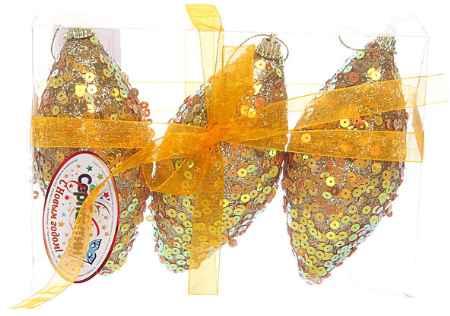 Купить Серпантин A100436G Капля Золотистая