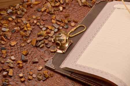 Купить Брелок для ключей. Коллекция Socotra (Шлем водолаза, золотой; металл)