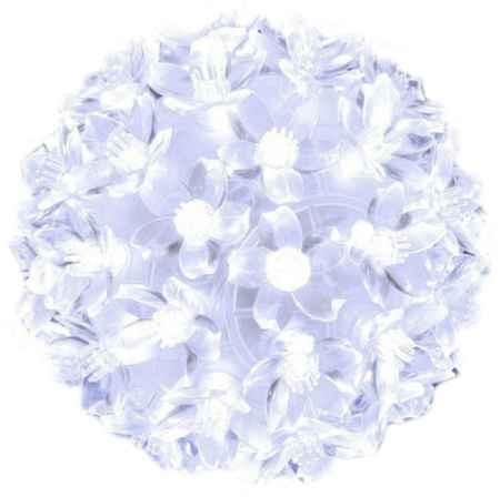 Купить Серпантин LED 50 Шар Белый 183-407