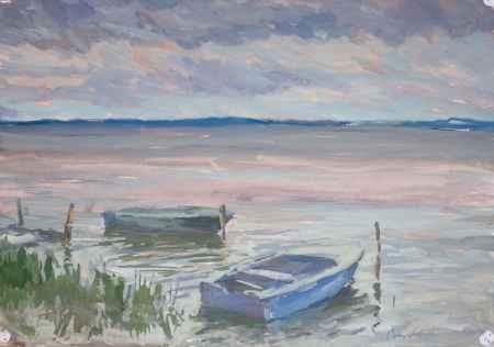 """Купить Картина """"На озере (4)"""""""