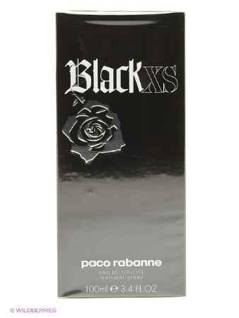 Купить PACO RABANNE Paco Rabanne Black XS М Товар Туалетная вода-спрей 100 мл