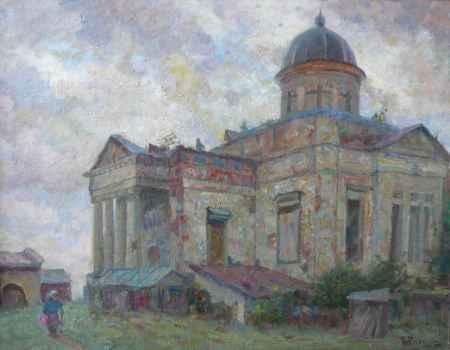 """Купить Картина """"Развалины храма в Галиче"""""""