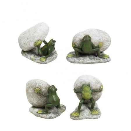Купить Creative Home Статуэтка Лягушка с камнем