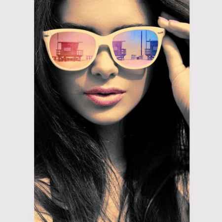 Купить Eurographics Eurographics Репродукция 55x75 см Fashion Art Girl Sunset