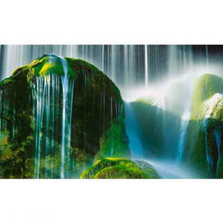 Купить Eurographics Eurographics Репродукция на стекле Green Falls 50x125 см Deco Glass