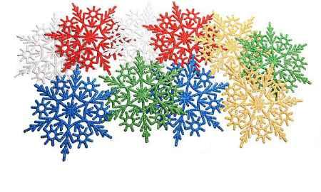 Купить Серпантин Снежинка 201-714