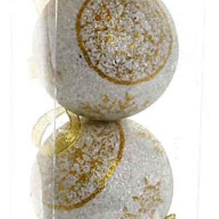 Купить Серпантин А560025CG8 Снежинки золотые