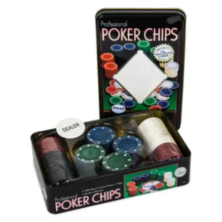 Купить Partida Holdem Light 100 фишек без номинала