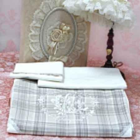 Купить Choupette комплект постельного белья 3 предмета  choupette ваниль весна-лето в подарочной упаковке