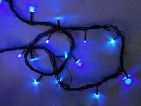 Купить Серпантин LED 200 внешняя синяя